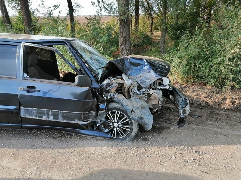 Четыре автомобиля столкнулись у Сухой Балки