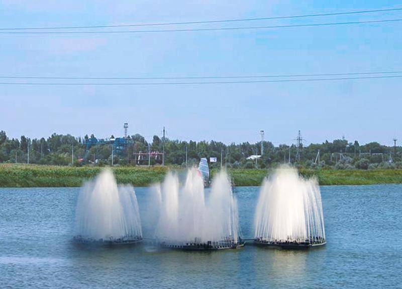 Волгодонец предложил установить на заливе наплавной светоиллюминационный фонтан