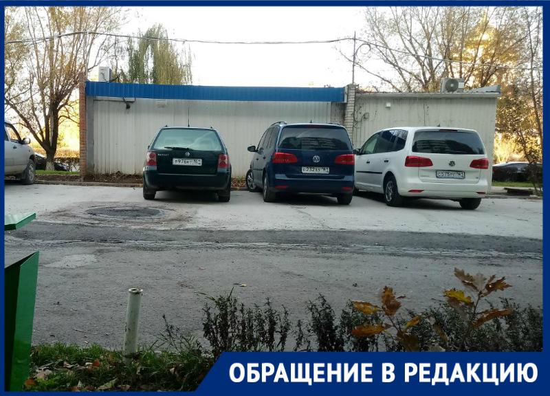 «Самовольная парковка лишила нас детской площадки»: волгодонцы