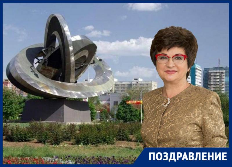 Валентина Руденко поздравила волгодонцев с Днем Победы