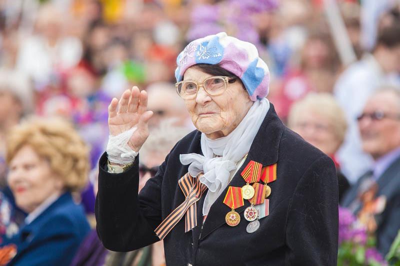 Видеоверсия парада Победы в Волгодонске