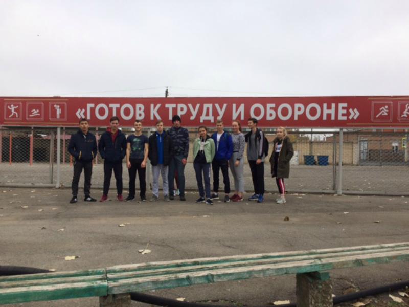 Волгодонцы продемонстрировали свою физическую подготовку в сдаче норм ГТО
