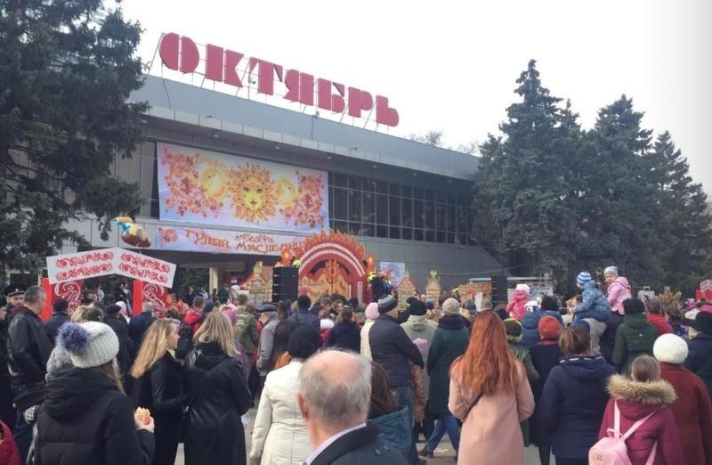 Блинный развал, фотозоны и спортивные состязания: в Волгодонске встречают Масленицу