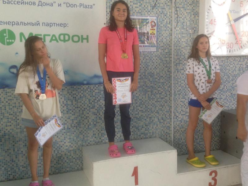Волгодонцы стали чемпионами Ростовской области по плаванию