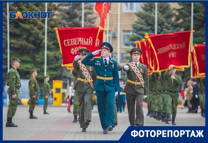 «Найди себя на фото»: как в Волгодонске прошел Парад Победы