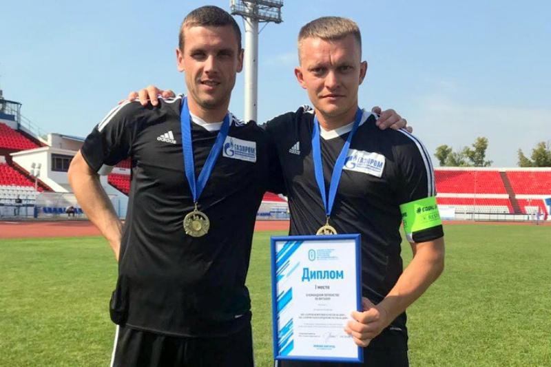 Волгодонец Александр Шкуркин в составе сборной региона стал чемпионом Всероссийской спартакиады по футболу