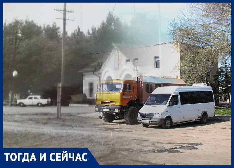 Волгодонск тогда и сейчас: старый железнодорожный вокзал