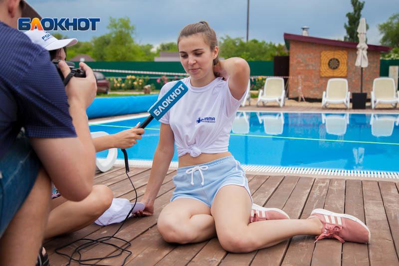 Нелюбимое упражнение Юлии Тислицкой вывело ее из борьбы на спортивном этапе «Мисс Блокнот»
