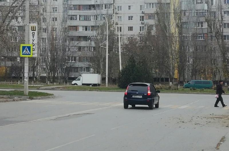 По инициативе ГИБДД переносят «зебру» на улице Кошевого
