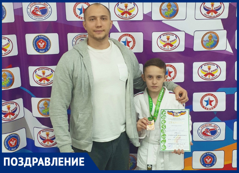 Тренер волгодонского спортивного клуба «Медведь» Михаил Калинин отмечает день рождения