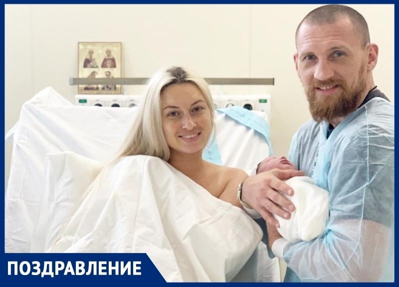 Дмитрий Кудряшов стал многодетным отцом
