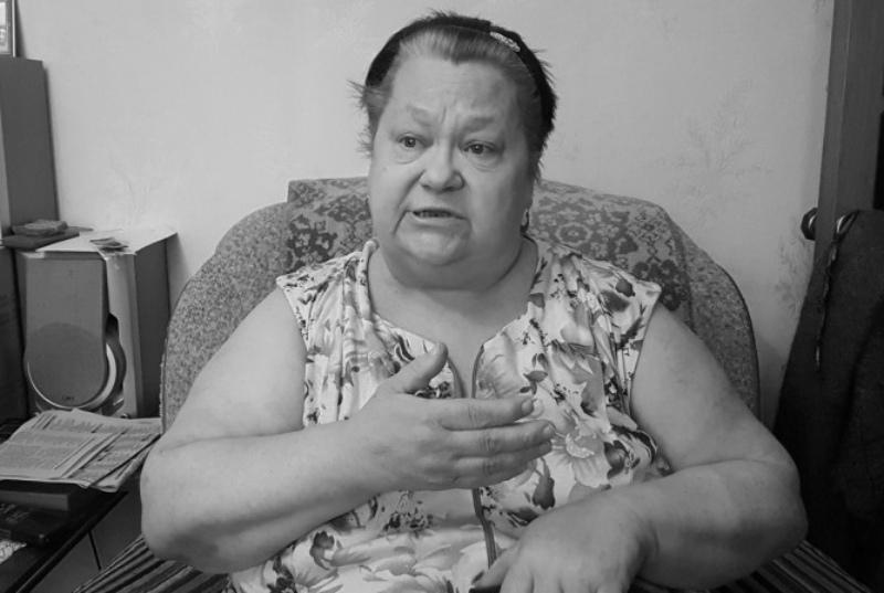 Скончалась пенсионерка Лидия Родионова, которую медики на руках спустили с 5 этажа