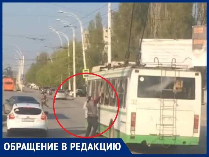 ««Мойщик троллейбусов» вернулся, водителям следует быть осторожными»: жительница города