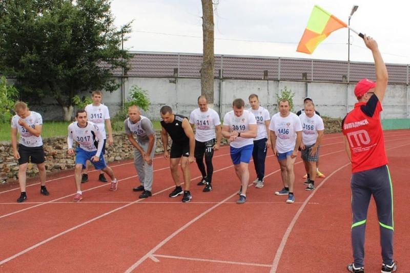 Летний этап сдачи норм ГТО в Волгодонске в самом разгаре