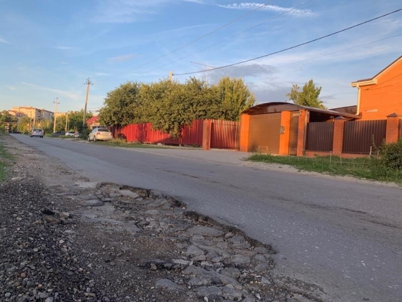 На четырех переулках и двух улицах в Старосоленом пройдет ямочный ремонт