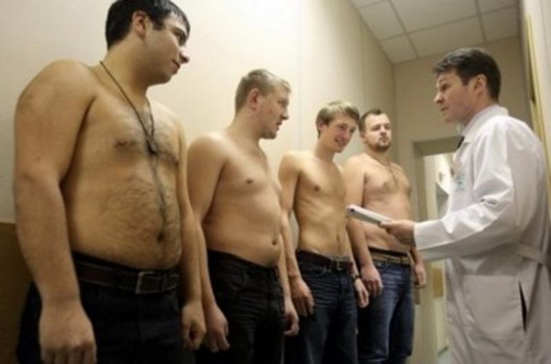 Волгодонские призывники чаще болеют ожирением