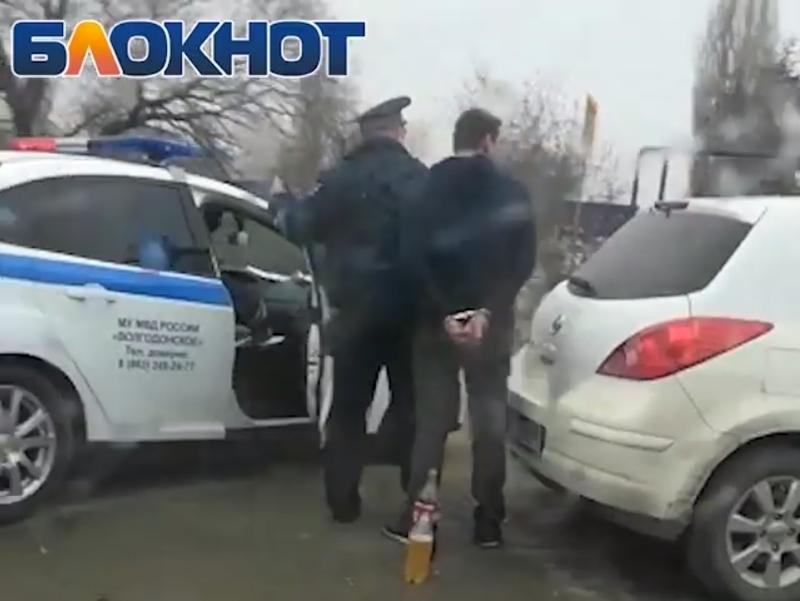 Пьяный водитель без документов пытался уйти от погони и устроил ДТП в Волгодонске