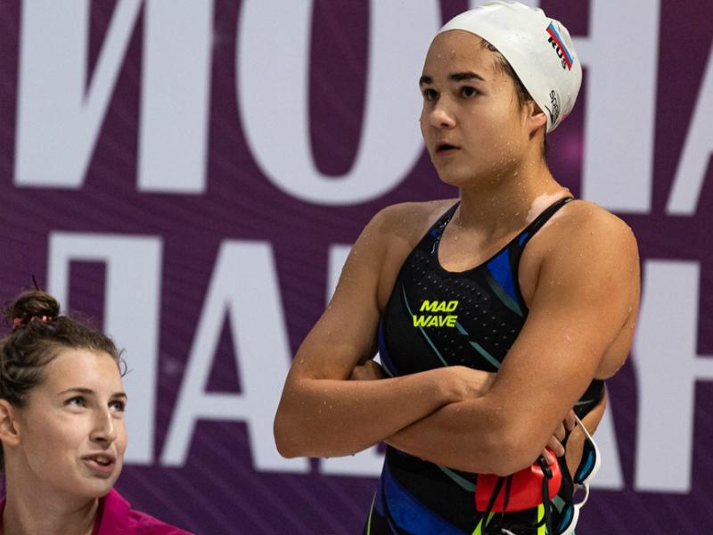 Волгодончанка Вероника Кучеренко вошла в состав сборной России по плаванию