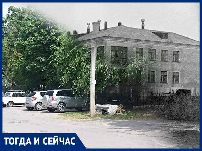 Волгодонск тогда и сейчас: кущи на Лермонтова