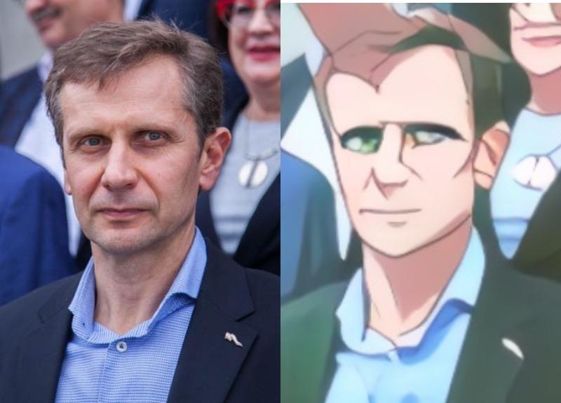 Как бы выглядели депутаты Волгодонска в образе аниме