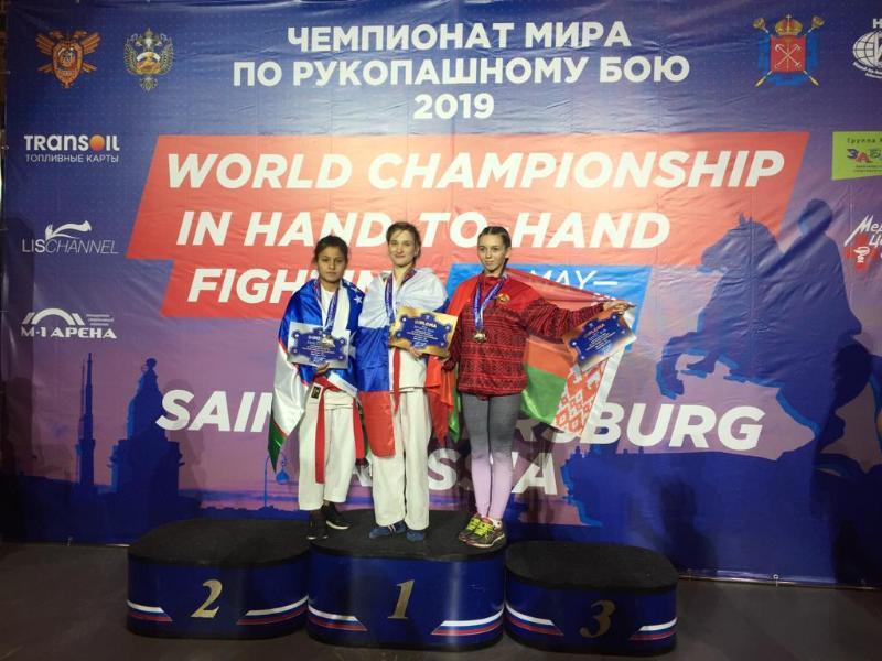 Волгодончанка Анна Новикова стала чемпионкой мира по рукопашному бою