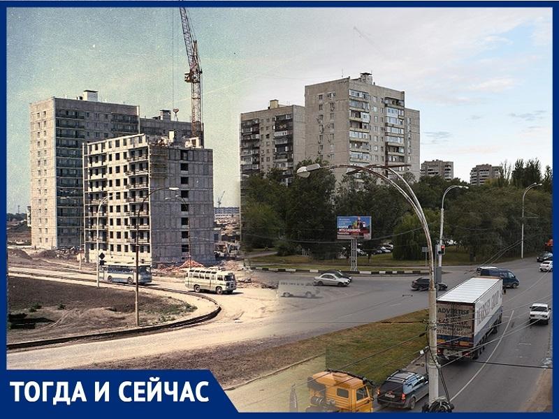 Волгодонск тогда и сейчас: строится парадный въезд в ЮЗР