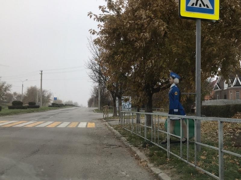 «Внимание, пешеход»: волгодонцам напомнили о ПДД на пешеходном переходе