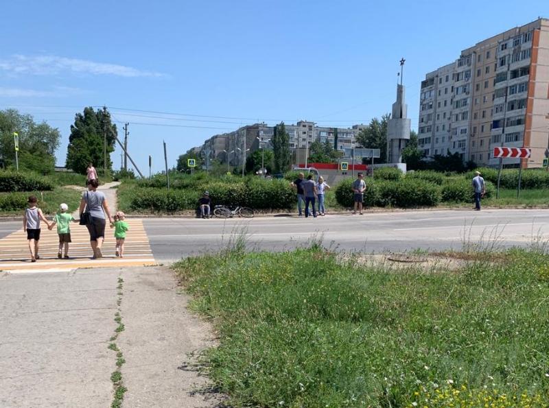 В Волгодонске на В-16 сбили велосипедиста