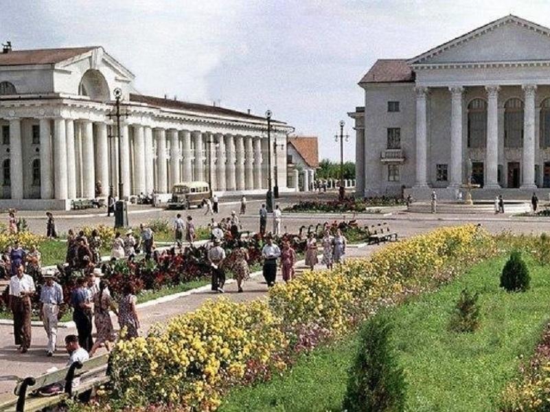 Как сталинские архитекторы превратили Кумшацкий бугор в город Цимлянск