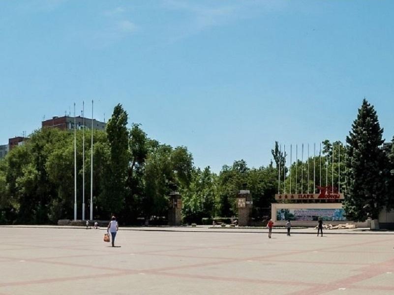 На входе в парк Победы достроят арку