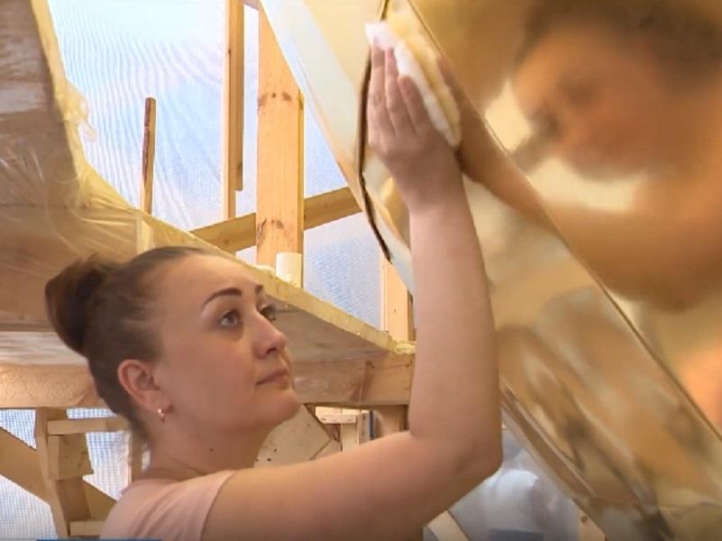 Сусальщики из Волгодонска применили секретные технологии на главном соборе Твери