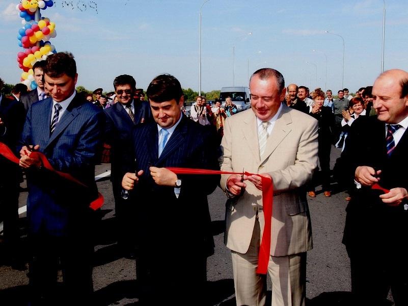 Мост через Дон у Волгодонска построили после визита премьера Михаила Касьянова