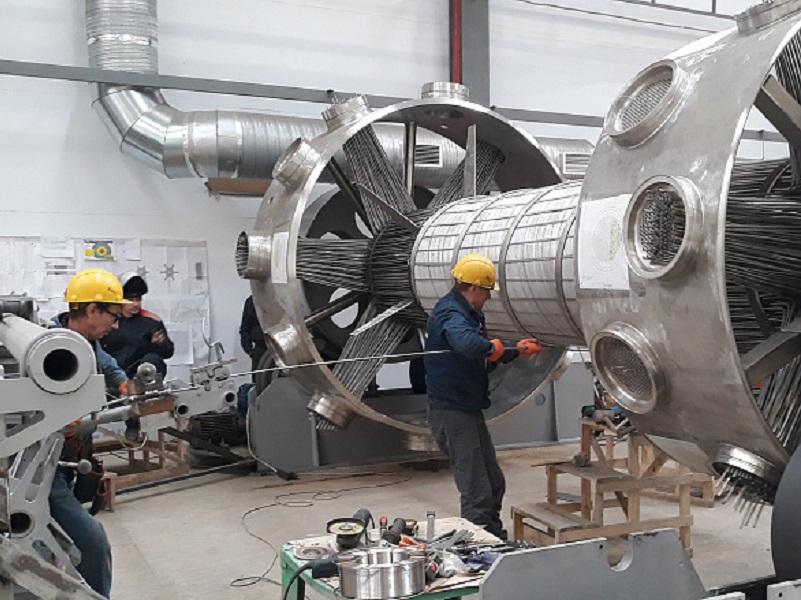 В Волгодонске открыли третье в мире производство уникальных испарителей для атомного флота и газовой промышленности