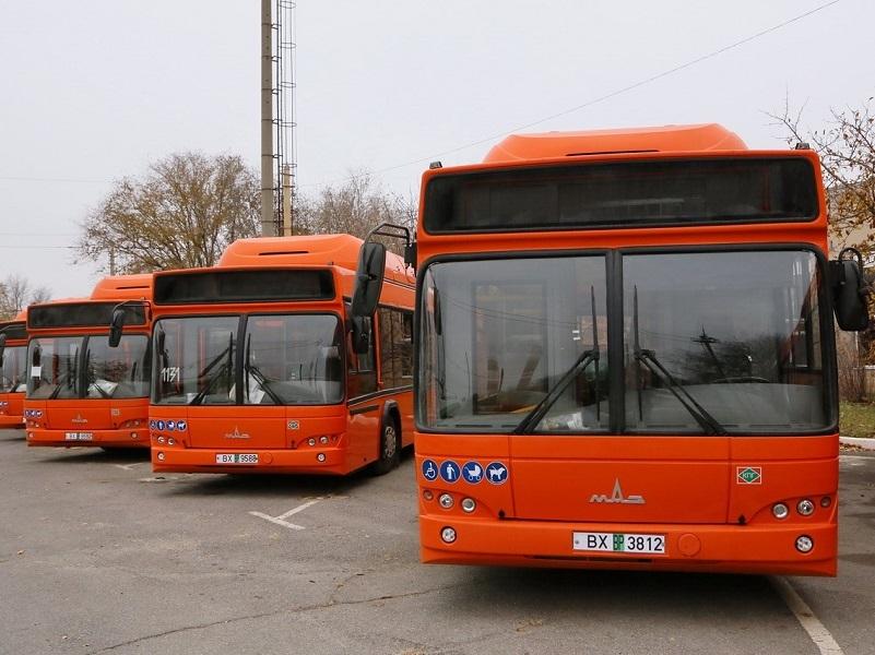 Волгодонск получил оранжевые газовые автобусы из Белоруссии