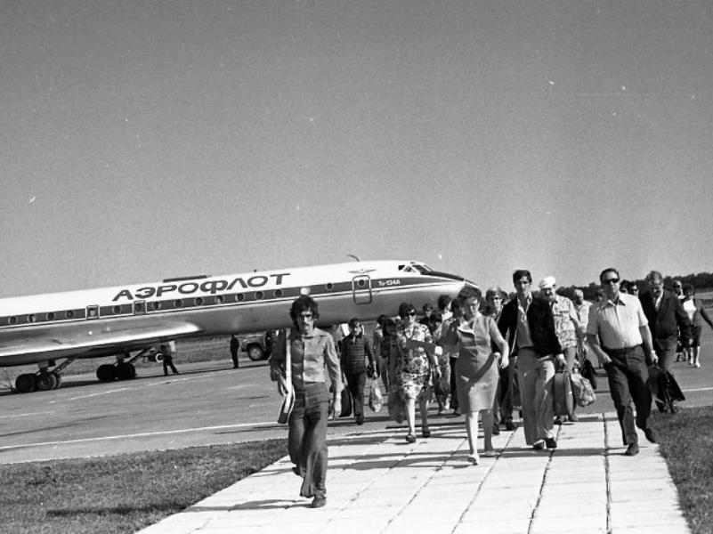 41 год назад аэропорт «Волгодонск» впервые принял реактивный самолет ТУ-134