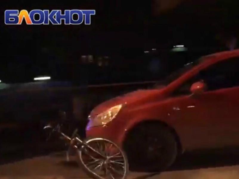 Велосипедист попал под колеса красного «Опеля» в Волгодонске