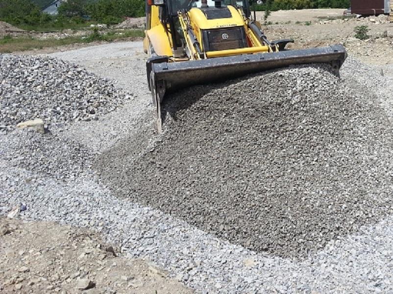 Дорогу до «Шелкового пути» в Волгодонске отсыпят щебнем