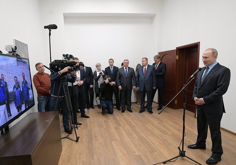Президент России Путин запустил новый блок АЭС под Волгодонском