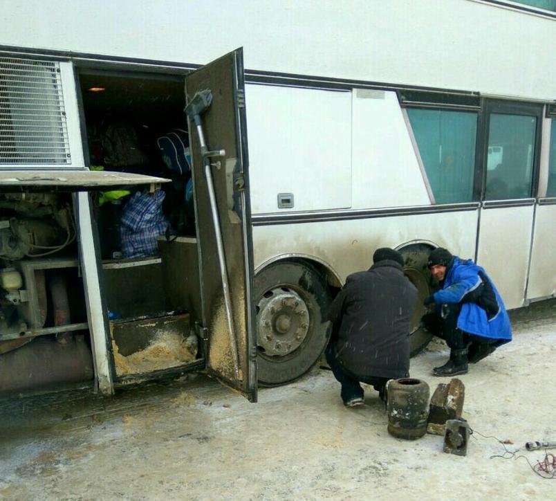 Из-за сломанного автобуса волгодонцы добирались в Москву на попутном транспорте
