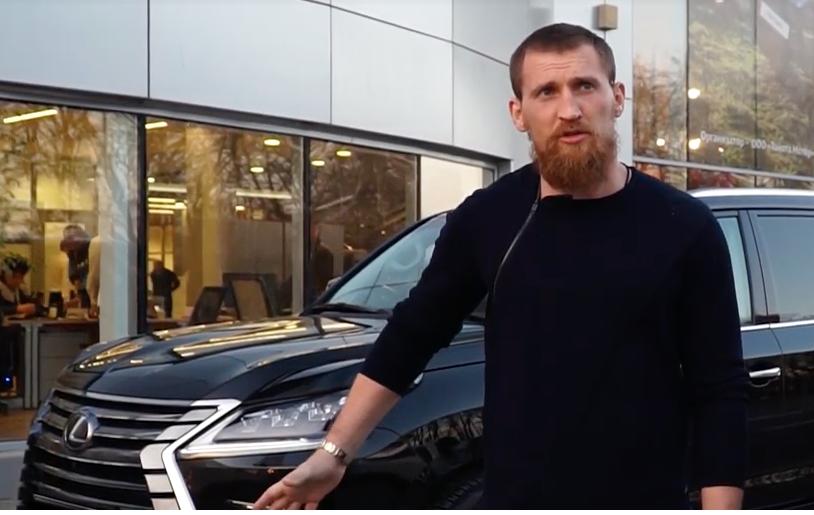 7-миллионный «Лексус» волгодонского боксера Дмитрия Кудряшова угнали в Ростове