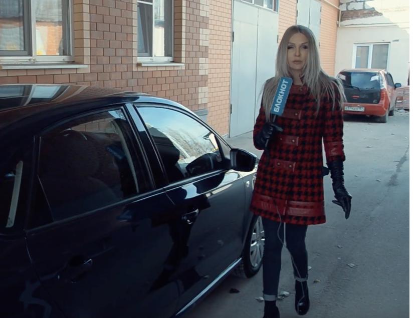 Как блондинка отдала автомобиль на СТО «Руль»
