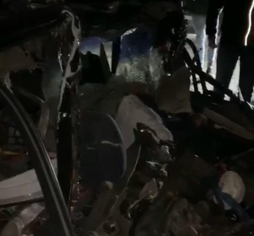 Жуткая авария унесла жизнь водителя «Мицубиси» на трассе Волгодонск-Морозовск