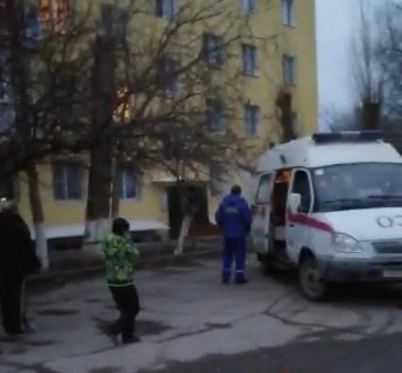 Женщины пострадали при пожаре на Степной в Волгодонске