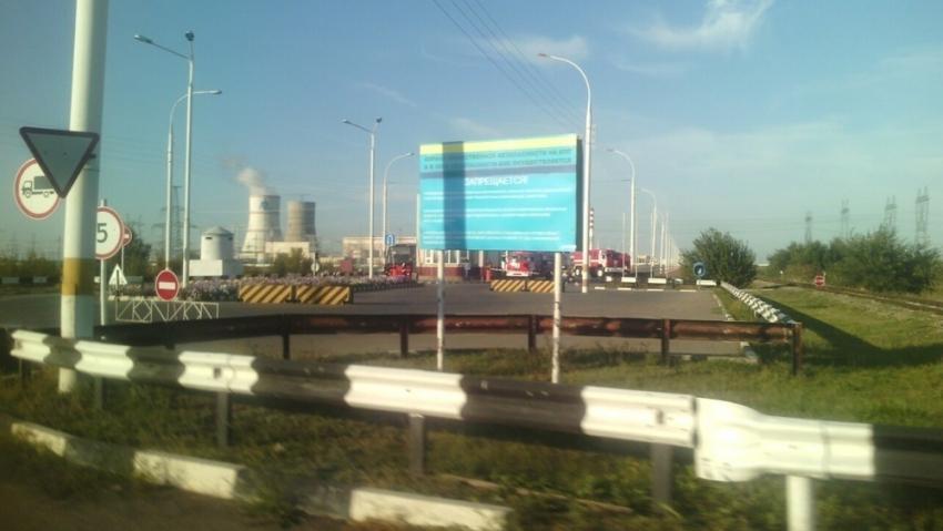 КПП Ростовской АЭС.