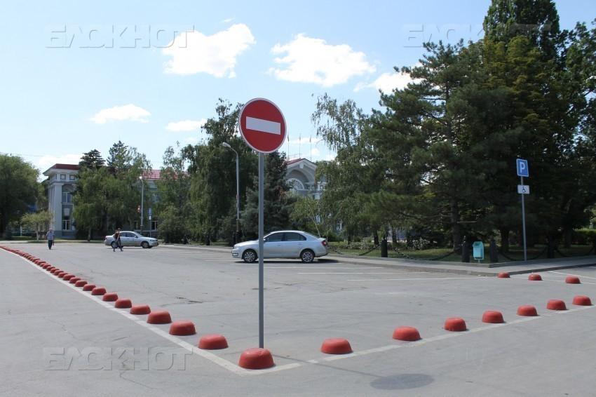 Возле администрации Волгодонска вернут двустороннее движение