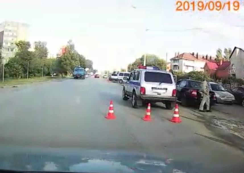 В ДТП на Степной пострадал 17-летний велосипедист