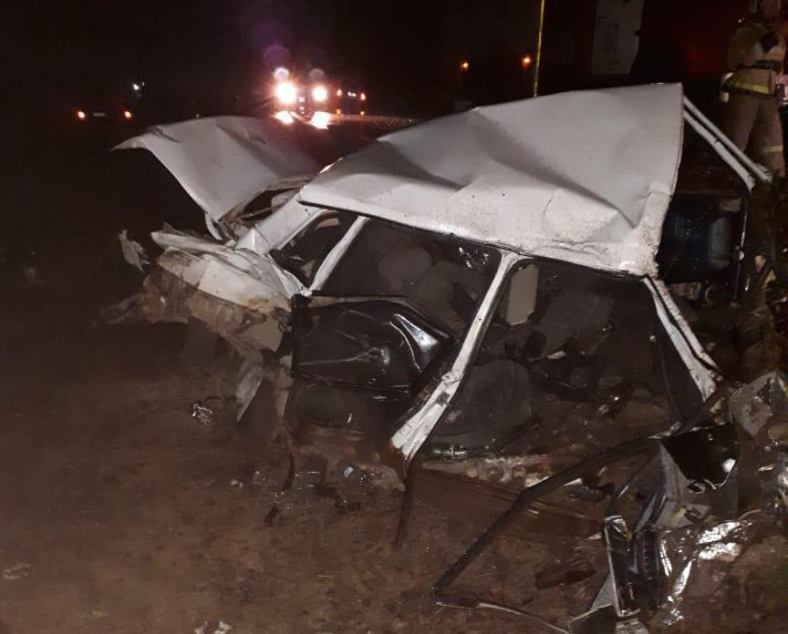 В жуткой аварии под Волгодонском погиб водитель ВАЗа