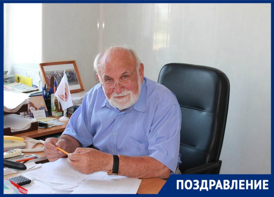 80-летний юбилей отмечает председатель общественной палаты Виктор Стадников