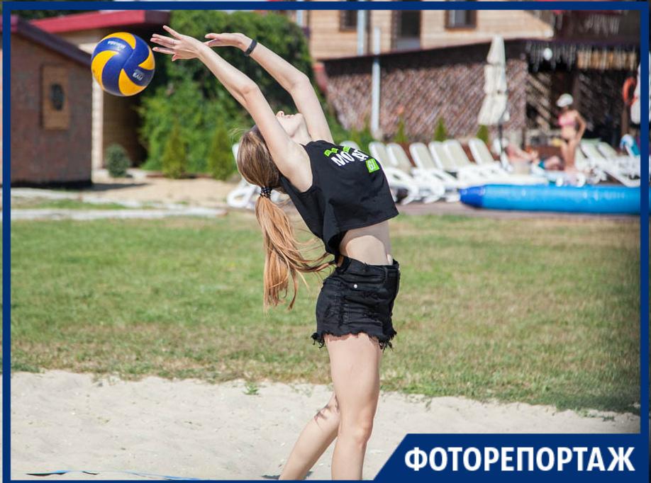 «Трио» разгромило «Созвездие» на турнире по пляжному волейболу