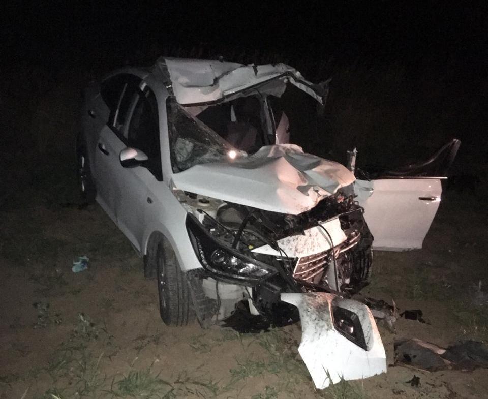 Водитель «Хендай» погиб в аварии в селе Дубовское